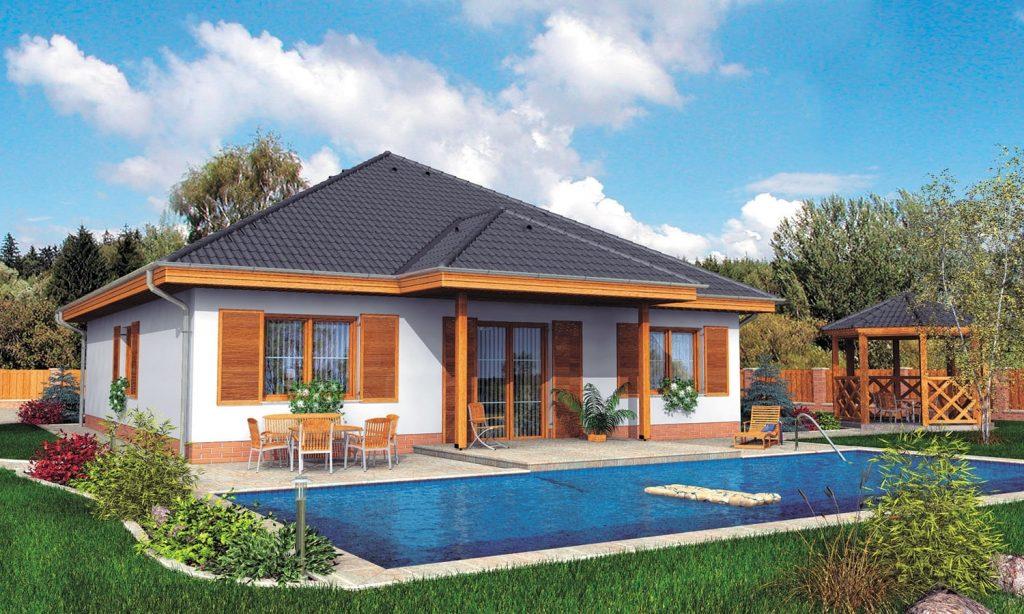 Проекты домов из блоков