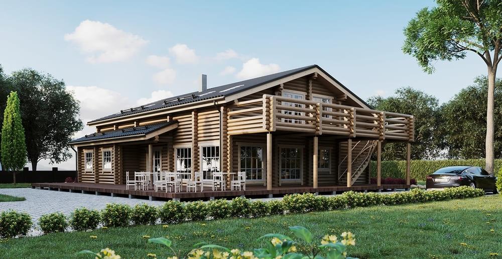 Проект деревянного дома в Беларуси