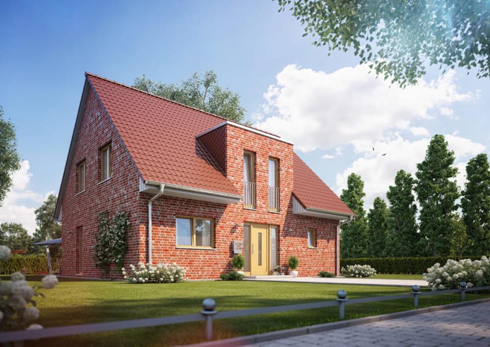 Проект дома с мансардной крышей