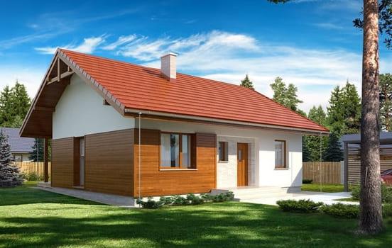 Дом из керамзитобетона под ключ машины для производства и транспортирования бетонных смесей